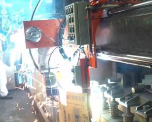 纵向搭接激光跟踪自动焊